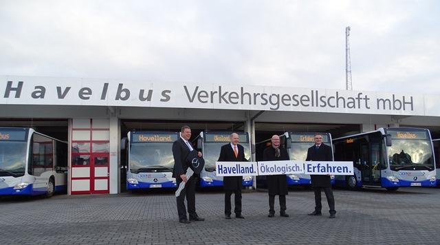 Havelland. Ökologisch. Erfahren. 10 neue Busse rollen durch das Havelland
