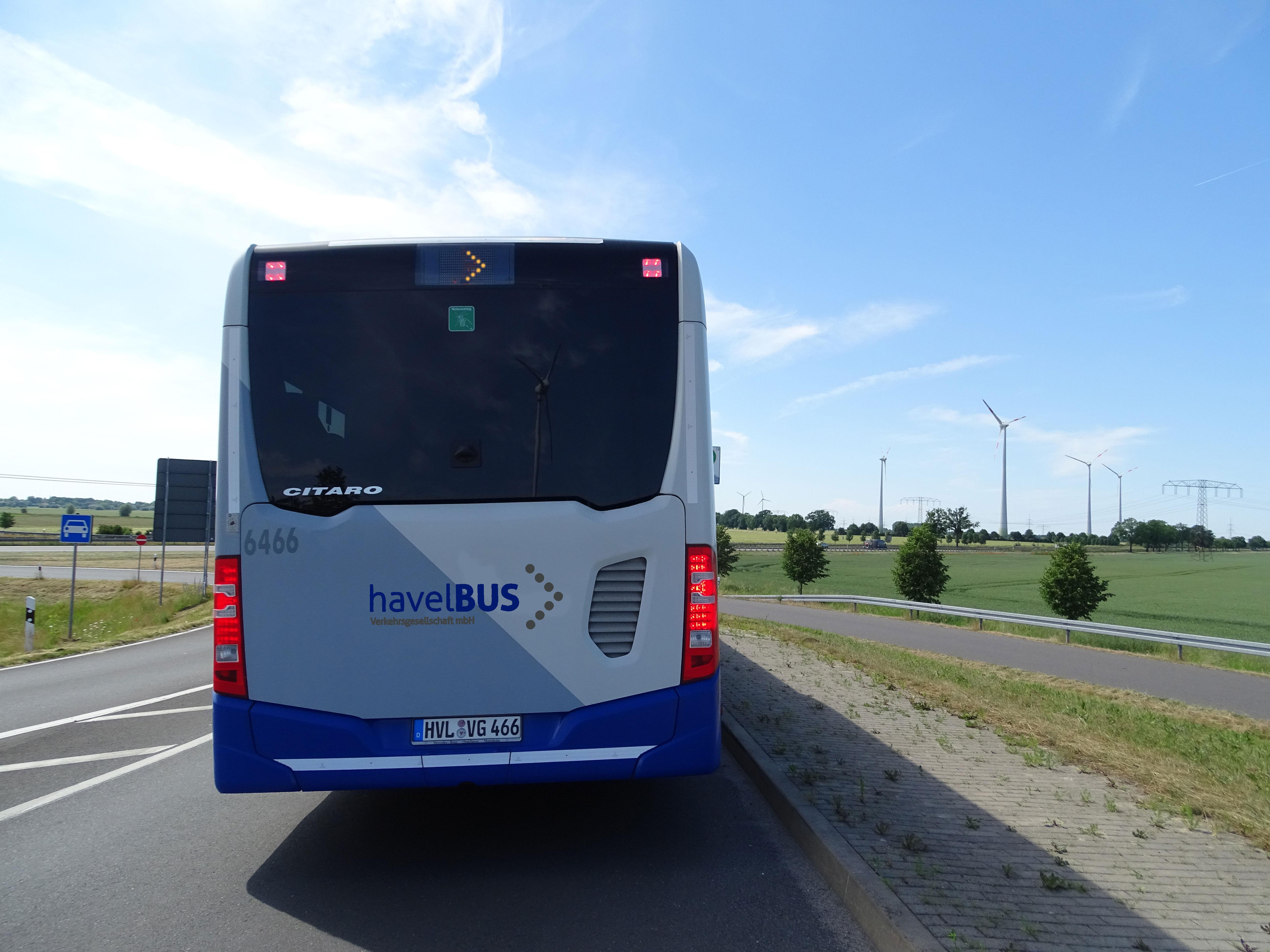 Fahrplanänderungen der Havelbus Verkehrsgesellschaft mbH ab 4. September 2017