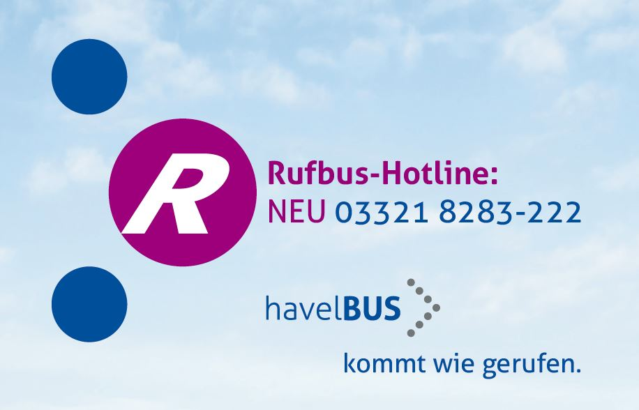 Neue Rufbus-Hotline bei Havelbus
