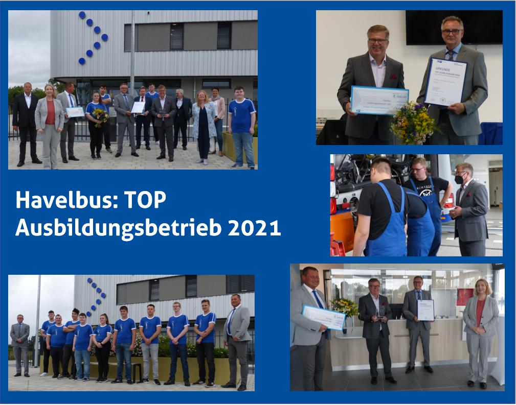 Havelbus: TOP Ausbildungsbetrieb 2021