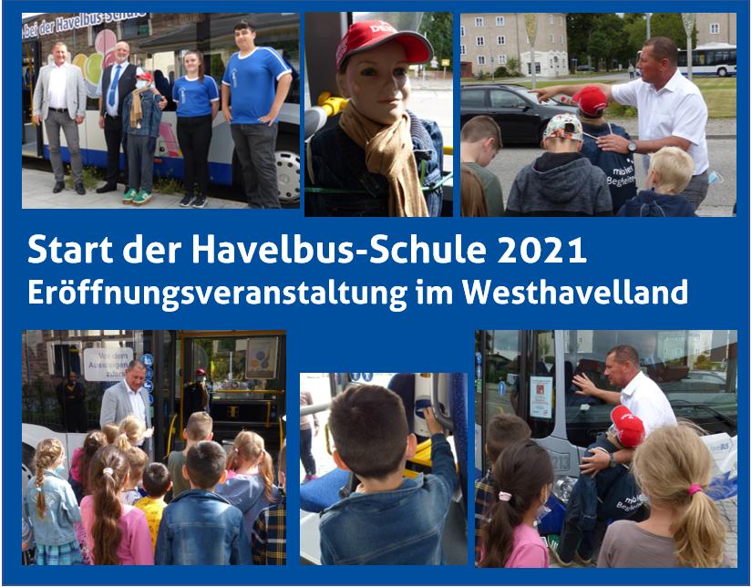 Die Havelbus-Schule: Verkehrserziehung für alle Erstklässler des Havellandes